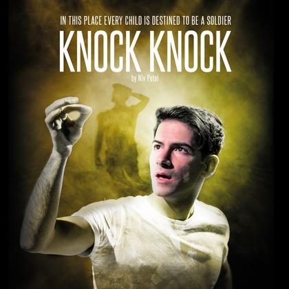 Promotional poster for Knock Knock production