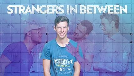 Promotional poster for Strangers In Between theatre production