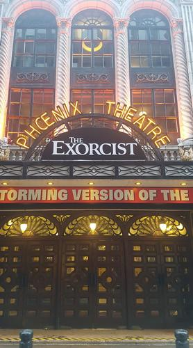 Phoenix theatre, London, home of the exorcist