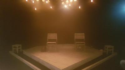 Stage set for Tiny Dynamite theatre show