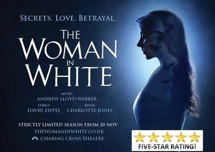 Woman in White theatre promotional poster